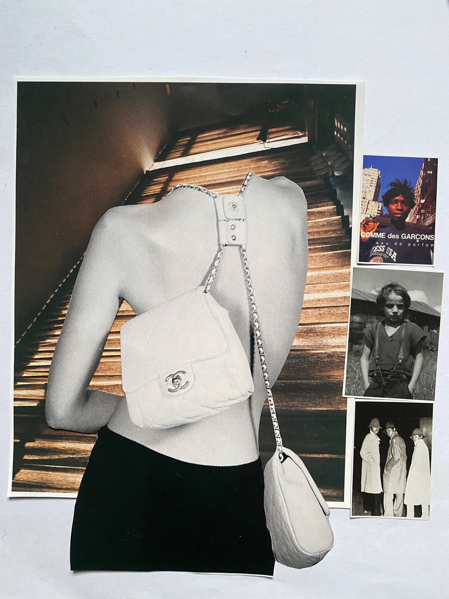 45. COLLAGE CHANEL BAGS-1